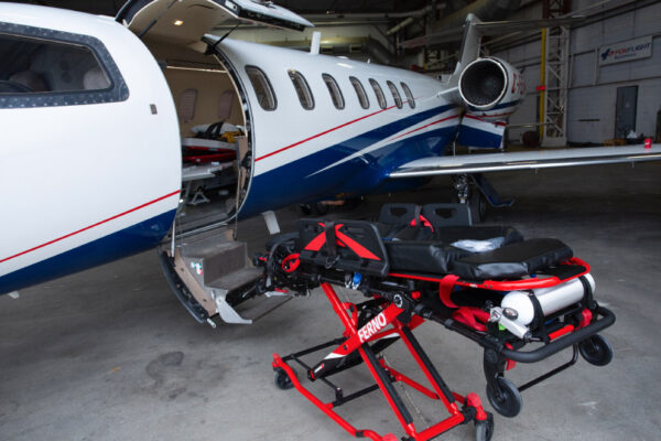 Learjet 40XR Exterior Door Stretcher