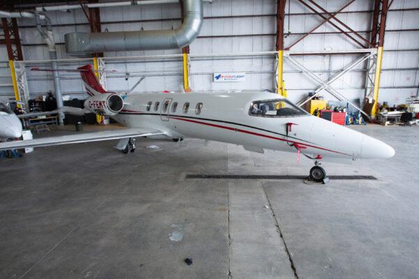 Learjet 40XR Hanger